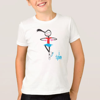 ispin ice skater T-Shirt
