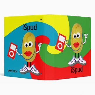 'ispud' humorous parody binder