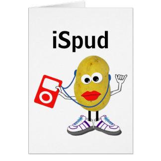 'ispud' humorous parody Card