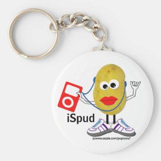 'ispud' humorous parody Keychain