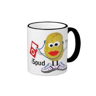 'ispud' humorous parody Mug