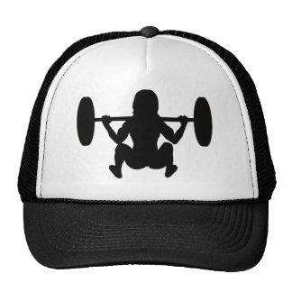 iSquat ladies workout wear Mesh Hats