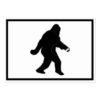 iSquatch (Add Background Color) Large Business Cards (Pack Of 100)