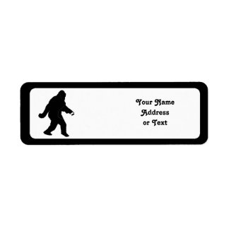iSquatch (Add Background Color) Label