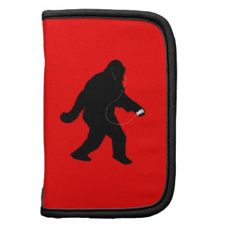 iSquatch (Add Background Color) Folio Planners