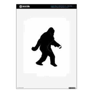 iSquatch (Add Background Color) Skins For iPad 3