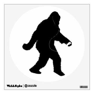 iSquatch (Add Background Color) Room Stickers