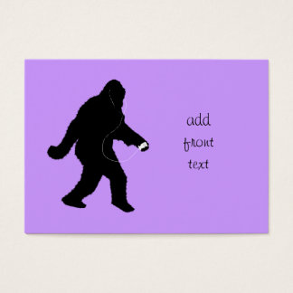 iSquatch (Change Background Color) Business Card