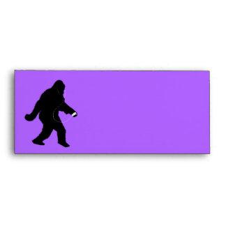 iSquatch (Change Background Color) Envelope