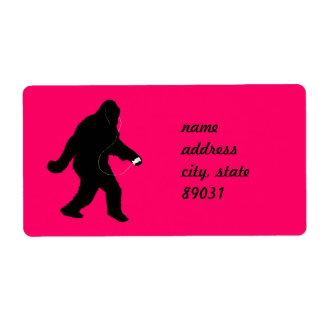 iSquatch (Change Background Color) Label