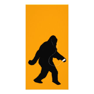 iSquatch (Change Background Color) Personalized Photo Card