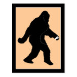 iSquatch (Change Background Color) Post Card