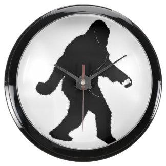 iSquatch (color de fondo del personalizar) Relojes Acuario