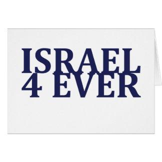 Israel 4 Ever Card