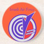 Israel A.F. Beverage Coasters