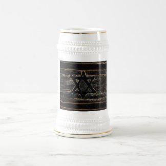 Israel abstracto jarra de cerveza