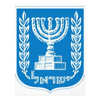 israel_armoiries coat of arm flyers