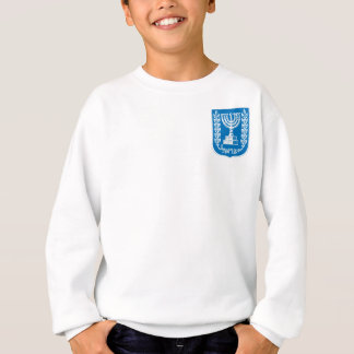 israel_armoiries coat of arm. sweatshirt