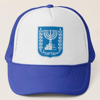 israel_armoiries coat of arm. trucker hat