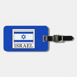 Israel Bag Tag