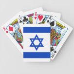 Israel - bandera israelí baraja de cartas