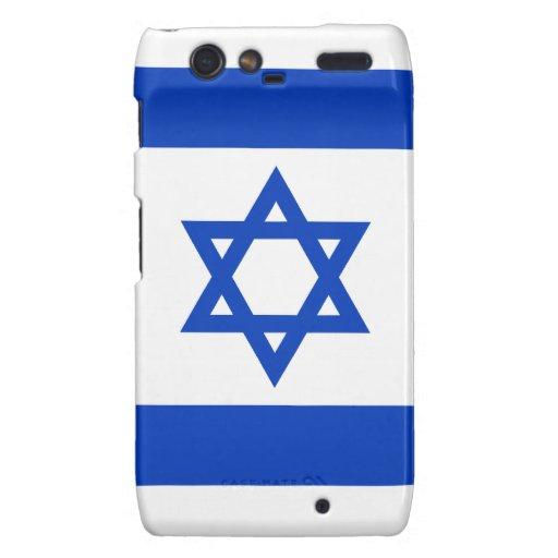 Israel - bandera israelí motorola droid RAZR fundas