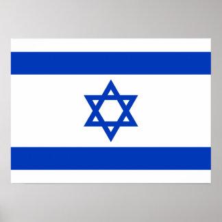 Israel - bandera israelí impresiones
