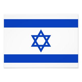 Israel - bandera israelí arte fotografico