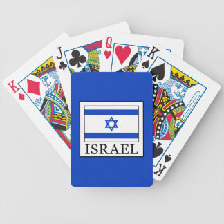 Israel Bicycle Playing Cards