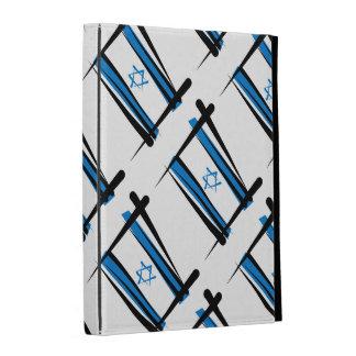 Israel Brush Flag iPad Folio Covers