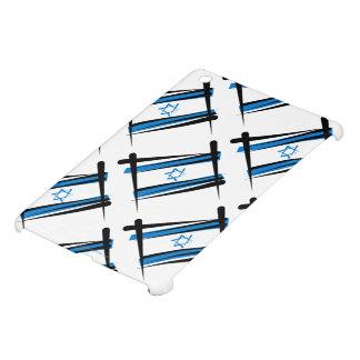 Israel Brush Flag Cover For The iPad Mini