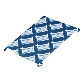 Israel Brush Flag Case For The iPad 2 3 4