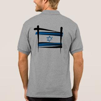 Israel Brush Flag Polo