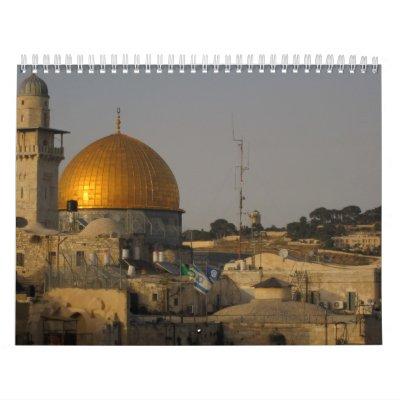 israel calendars