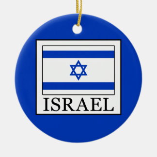 Israel Ceramic Ornament