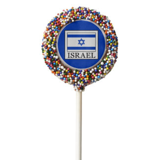 Israel Chocolate Dipped Oreo Pop