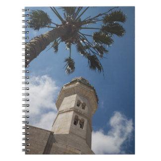 Israel, Cisjordania, Belén, mezquita de Omar Libro De Apuntes Con Espiral