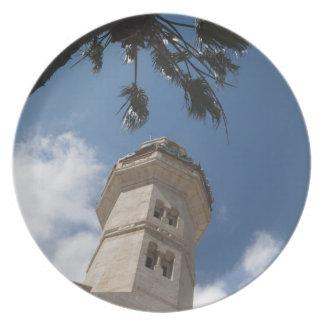 Israel, Cisjordania, Belén, mezquita de Omar Plato