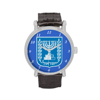 Israel* Coat of Arms Custom Watch
