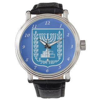 Israel* Coat of Arms Custom Watch