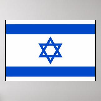 Israel (confinado), isla de la bandera del hombre posters