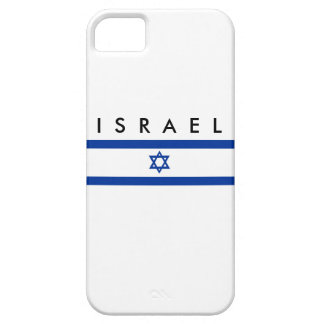 Israel country flag jew nation symbol name text iPhone SE/5/5s case