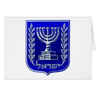 Israel Crest Card