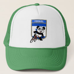 Israel Cycling Panda Trucker Hat
