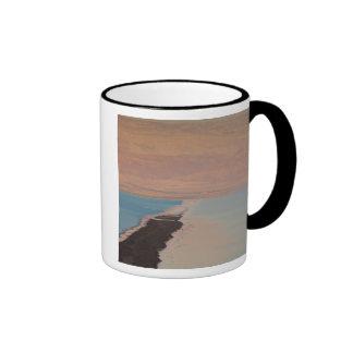 Israel, Dead Sea, Ein Bokek, Dead Sea, dusk 2 Ringer Mug