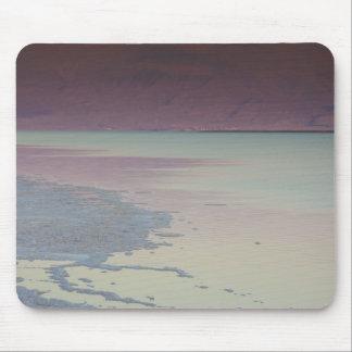 Israel, Dead Sea, Ein Bokek, Dead Sea, dusk Mouse Pad