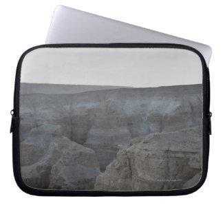 Israel Dead Sea rock formations Laptop Sleeve