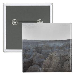 Israel, Dead Sea, rock formations Pinback Button