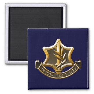 Israel Defense Forces 2 Inch Square Magnet