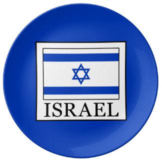 Israel Dinner Plate